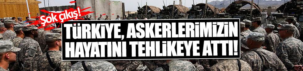 ABD: Türkiye askerlerimizin hayatını riske attı