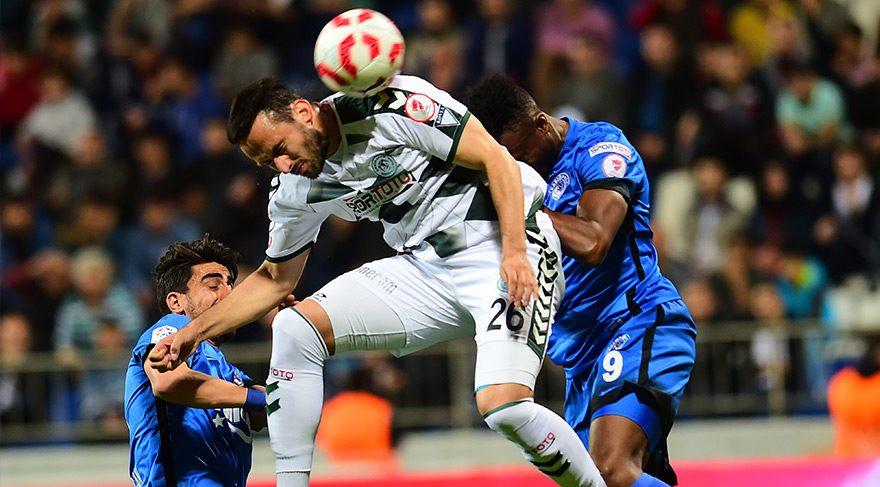Konyaspor 4 dakikada çakıldı!