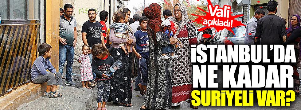 İstanbul'da ne kadar Suriyeli yaşıyor?