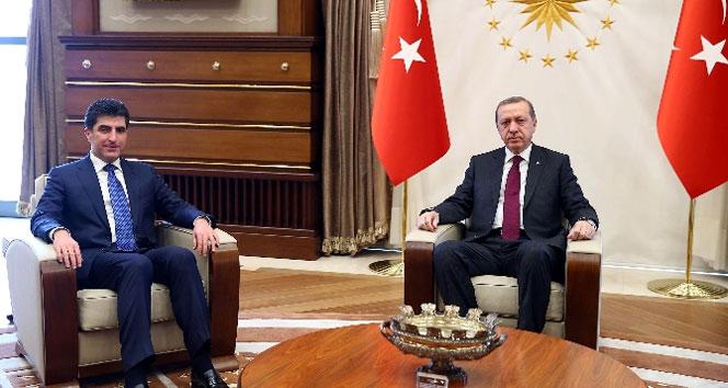 Erdoğan, Barzani görüşmesi