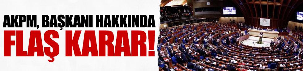 AKPM Başkanı hakkında işlem başlatıldı