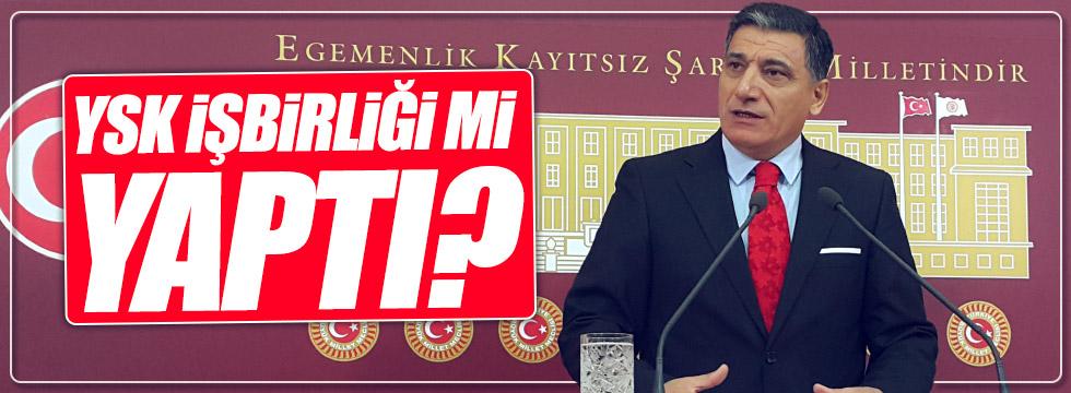 Nuri Okutan: YSK işbirliği mi yaptı?