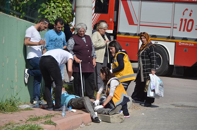 Özel halk otobüsünün freni patladı! 22 yaralı