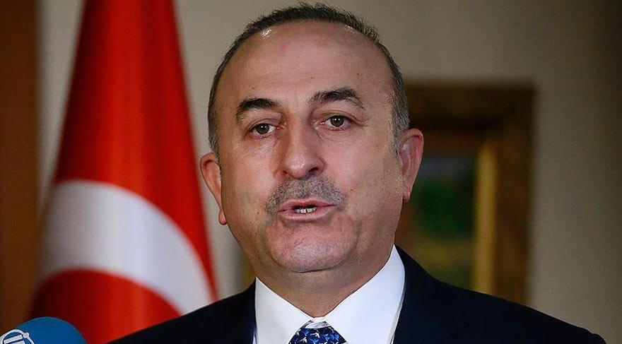 Çavuşoğlu'ndan YPG'ye silah yardımı açıklaması