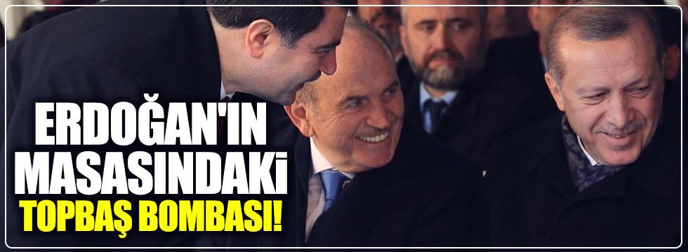 Erdoğan'ın masasındaki Kadir Topbaş dosyası