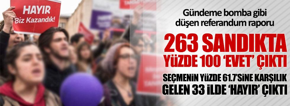 CHP'nin referandum raporu gündeme bomba gibi düştü
