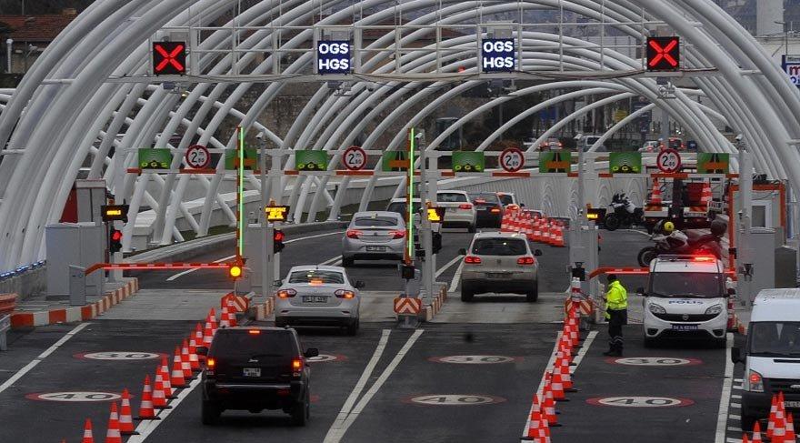 Avrasya Tüneli ve bazı yollar yarın trafiğe kapalı