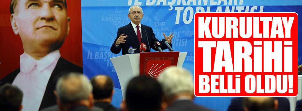 Kılıçdaroğlu kurultay tarihini açıkladı!