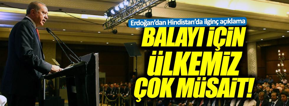 """Erdoğan: """"Balayılar için ülkemiz çok müsait"""""""