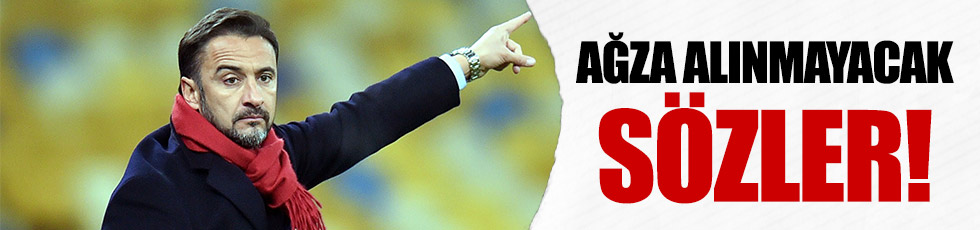 Vitor Pereira'dan ağıza alınmayacak sözler!