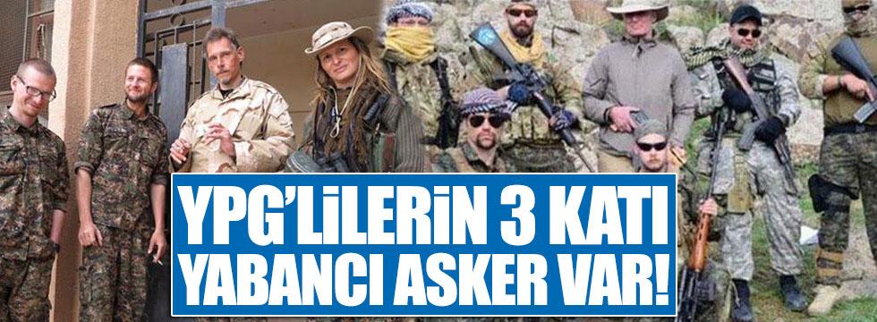 Telabyad'da YPG'lilerin 3 katı yabancı asker var!