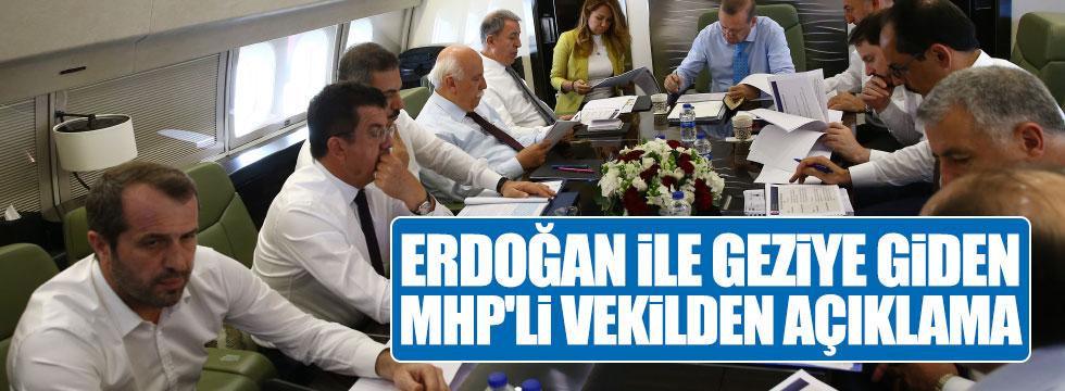 Sancaklı'dan, Erdoğan'ın ziyaretine ilişkin açıklama