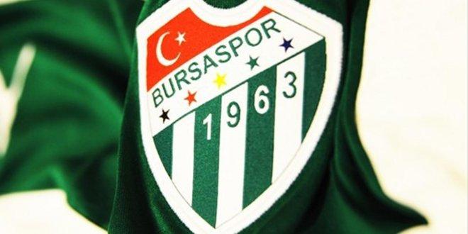Bursaspor'da bir ilk gerçekleşti