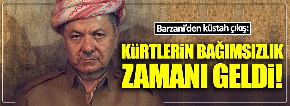 """Barzani: """"Kürtlerin bağımsızlık ilan etme zamanı geldi"""""""