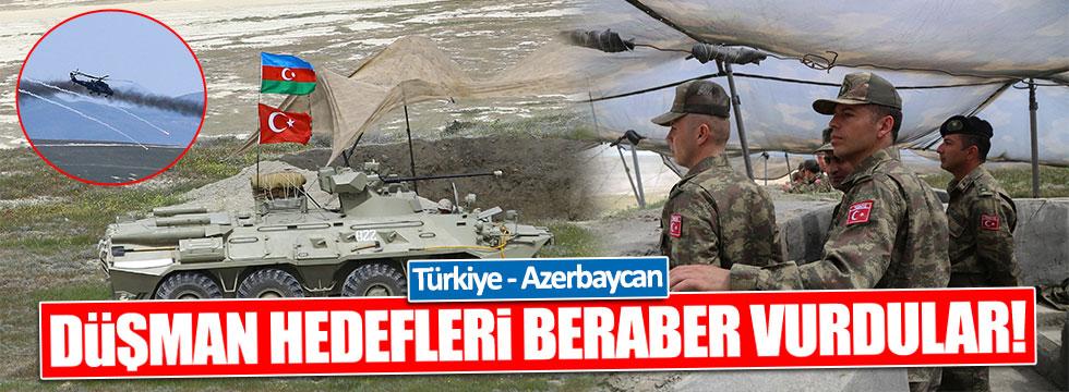 Azerbaycan ve Türk Silahlı Kuvvetleri düşman hedefleri vurdu!
