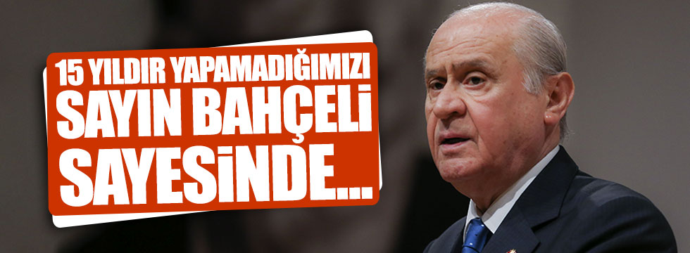 AKP'li Egemen Bağış'tan Bahçeli'ye minnet
