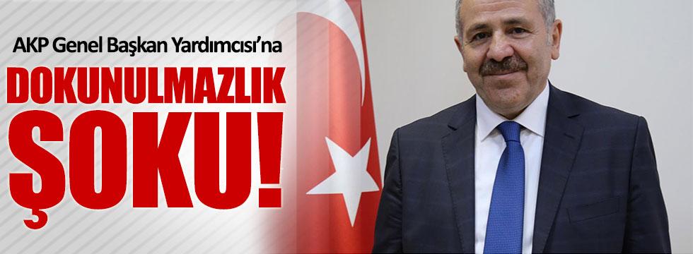 AKP  Genel Başkan Yardımcısı Şaban Dişli'ye dokunulmazlık şoku