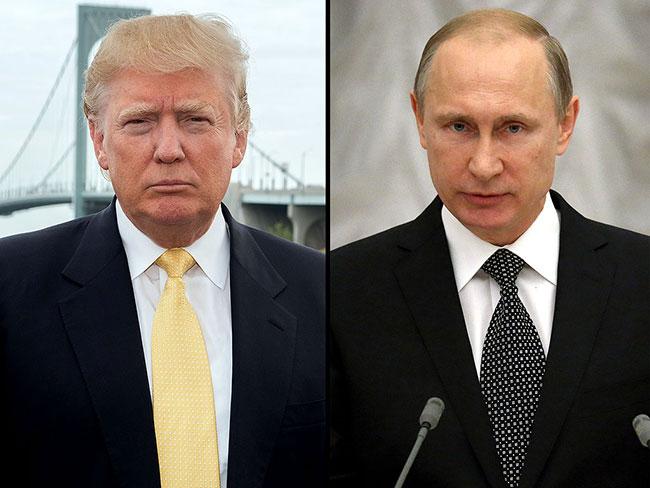 Trump, Putin ile görüştü