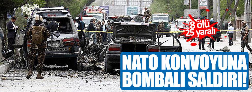 NATO askeri konvoyuna bombalı saldırı