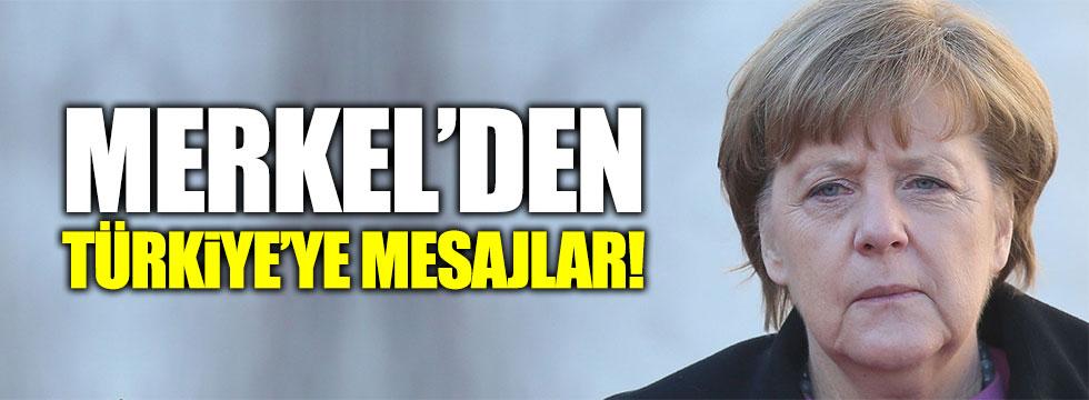 Merkel'den Türkiye ve Türkleri ilgilendirecek açıklama!