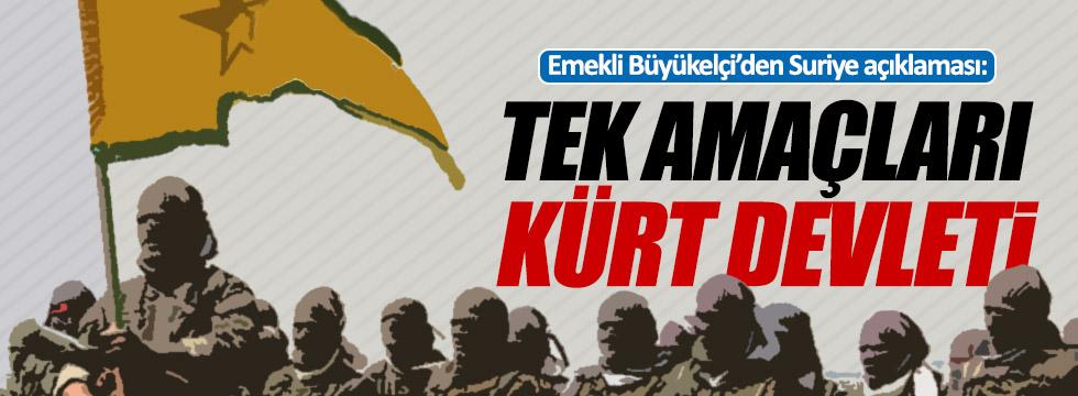 """Öymen: """"PYD savaş suçlusu ama kimse ses etmiyor"""""""