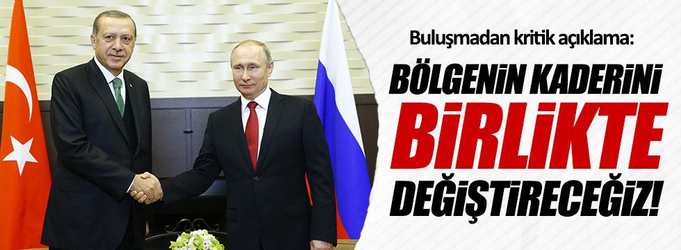 Putin- Erdoğan buluşmasından kritik açıklama!