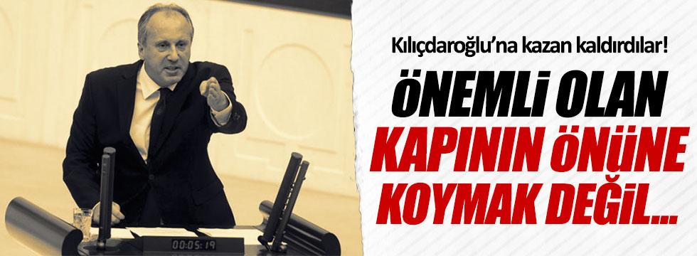 CHP'li Muharrem İnce'den Kılıçdaroğlu'na çok sert cevap