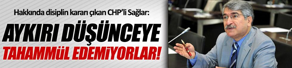 CHP Mersin Milletvekili Fikri Sağlar'dan açıklama