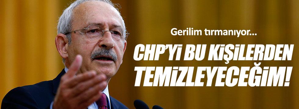 Kılıçdaroğlu: CHP'yi temizleyeceğim