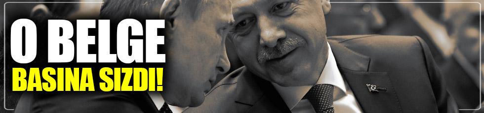 Putin-Erdoğan görüşmesi basına sızdı