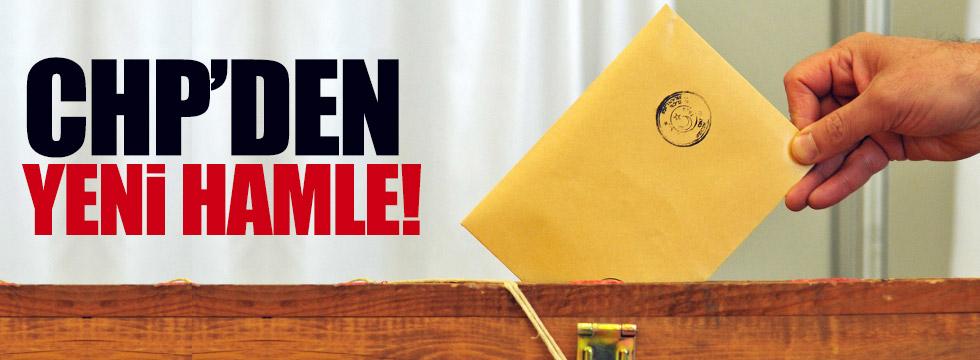 CHP'den referandum için yeni hamle