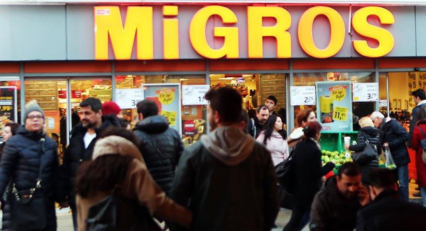 Migros'ta dev satış