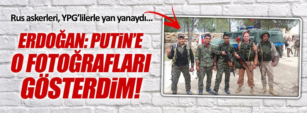 """Erdoğan: """"Putin'e o fotoğraf için rahatsızlığımı ilettim"""""""