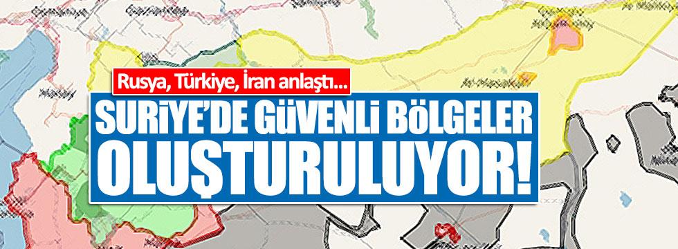Rusya, İran ve Türkiye anlaştı!