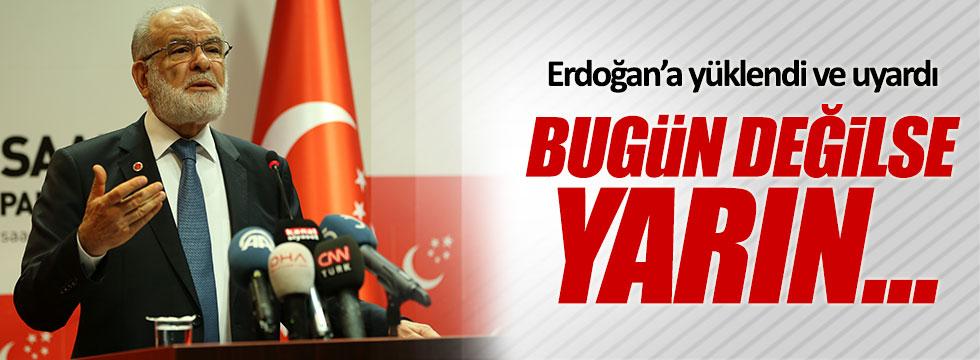 Temel Karamollaoğlu'ndan Erdoğan'a tepki