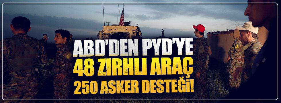 ABD'den PYD'ye 48 araç ve 250 asker desteği!