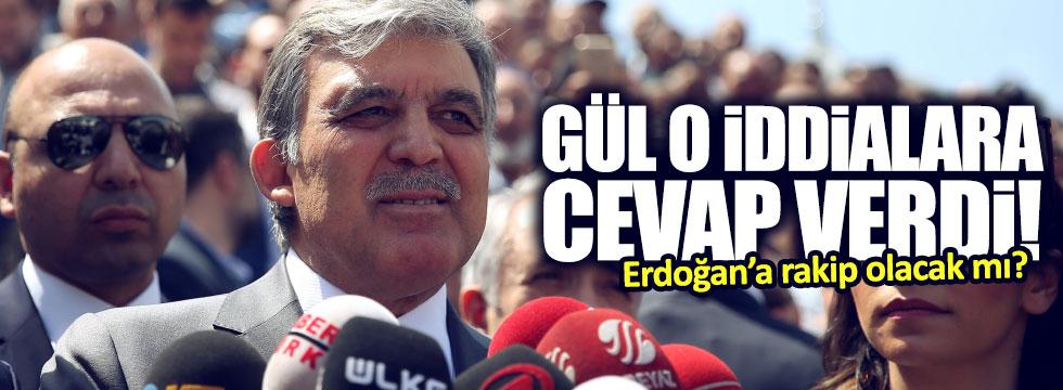 Gül'den siyasete girme açıklaması