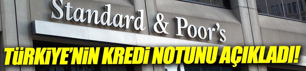 S&P not görünümünün negatif olduğunu bildirdi