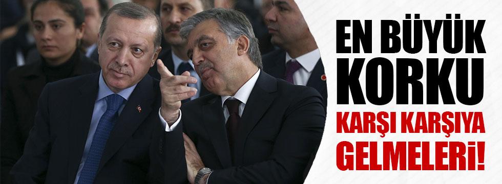 AKP'liler Erdoğan ile Gül'ün karşı karşıya gelmesinden korkuyor!