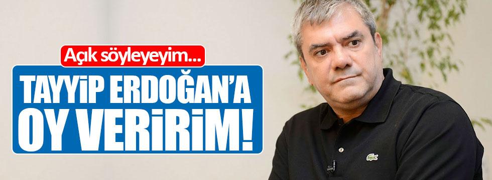 """Yılmaz Özdil: """"Tayyip Erdoğan'a oy veririm!"""""""