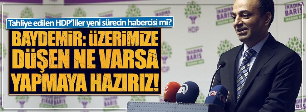 Tahliye edilen HDP'liler yeni sürecin habercisi mi?