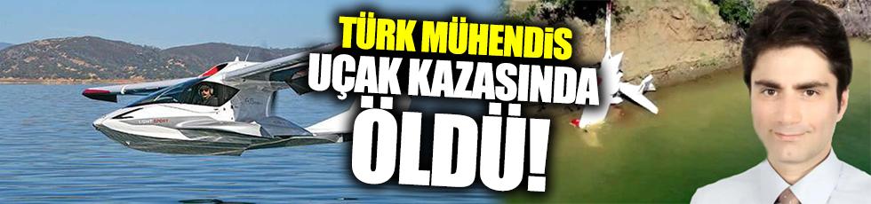 Türk mühendis uçak kazasında öldü