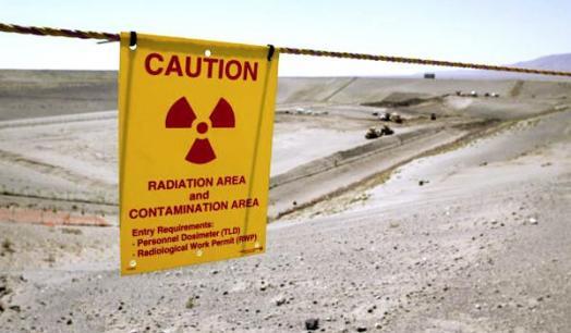 ABD'de nükleer atık santrali çöktü