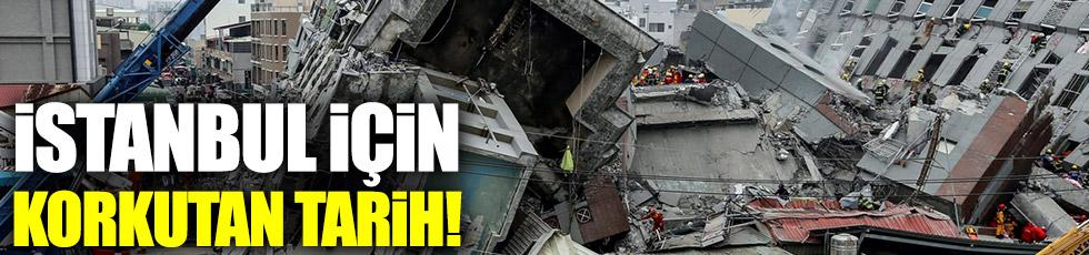 İstanbul için korkutan tarih!