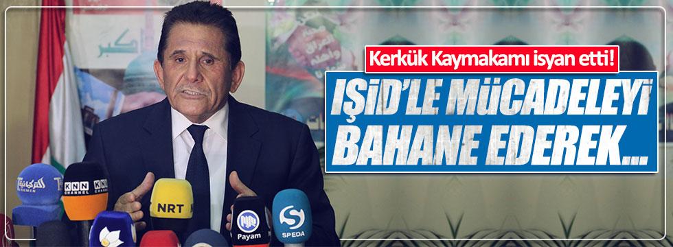 Kerkük Kaymakamı Kamil Salihi'den PKK çıkışı
