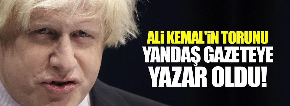 Boris Johnson, yandaş Sabah gazetesine yazdı