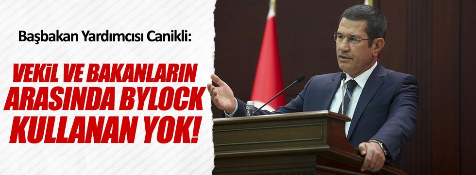 Canikli'den ByLock Açıklaması