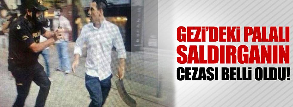 Palalı saldırgana 3 yıl hapis cezası