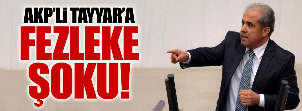 AKP'li Şamil Tayyar'a fezleke şoku