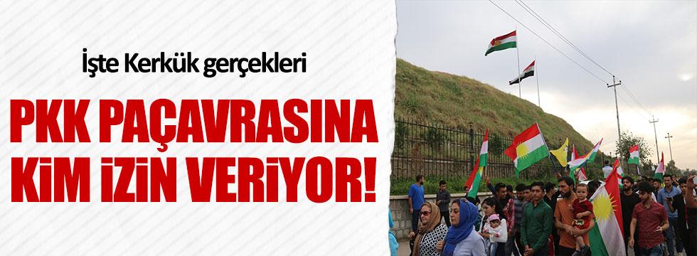 Kerkük'te PKK paçavrasına kim izin veriyor?